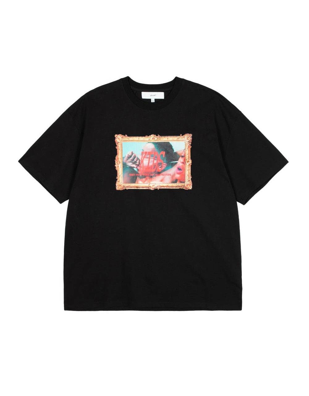 Salute HK Kid oversize t-shirt - black Salute HK T-shirt 81,15€
