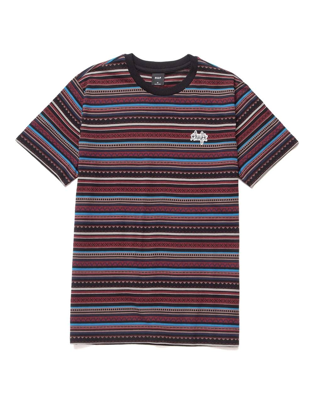 Huf Topanga knit top tee - navy blazer Huf T-shirt 65,00€