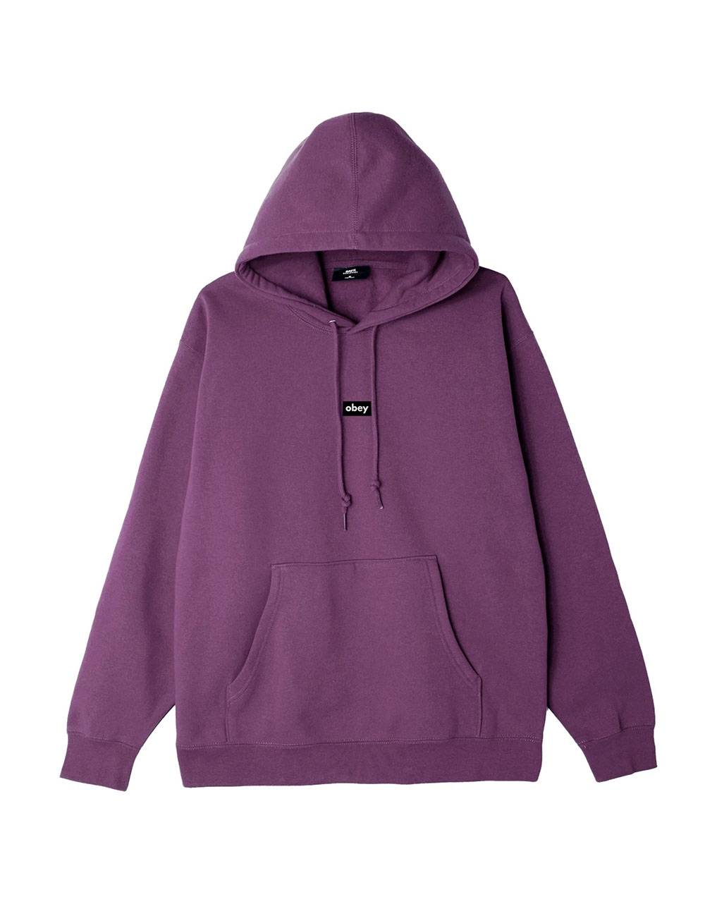 Obey Black bar premium hoodie - purple nitro obey Sweater 89,34€