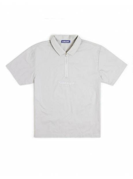 Nostalgia 1994 by Usual half zip shirt - stone Usual Shirt 105,00€