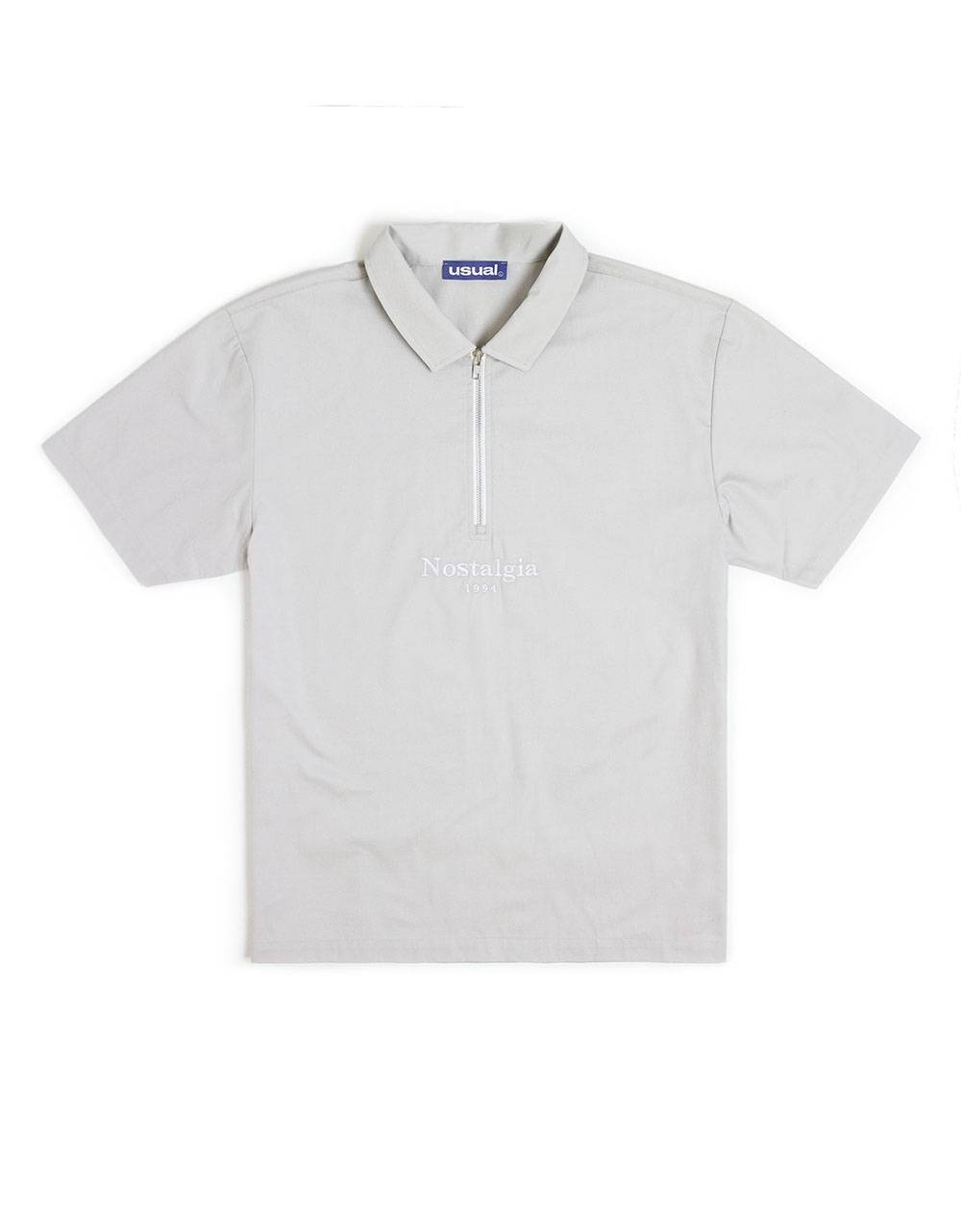 Nostalgia 1994 by Usual half zip shirt - stone Usual Shirt 86,07€