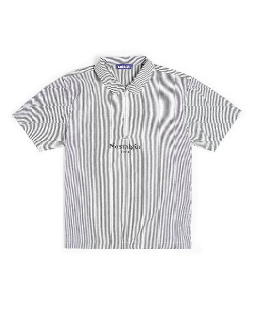Nostalgia 1994 by Usual Striped shirt - black Usual Shirt 81,15€