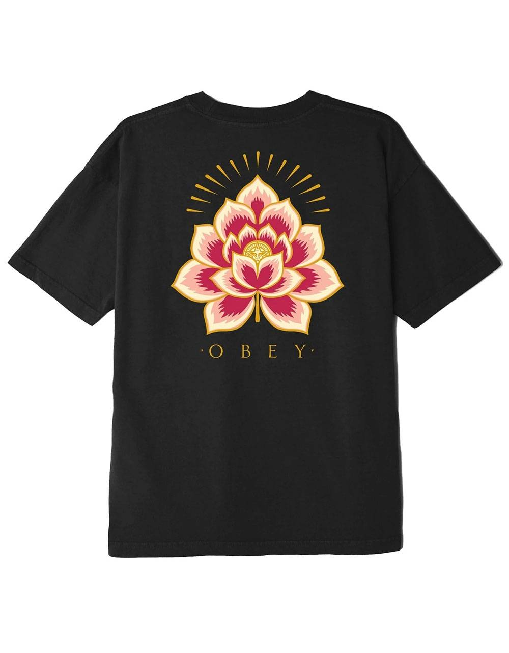 Obey Woman Radiant lotus classic tee - black obey T-shirt 45,00€