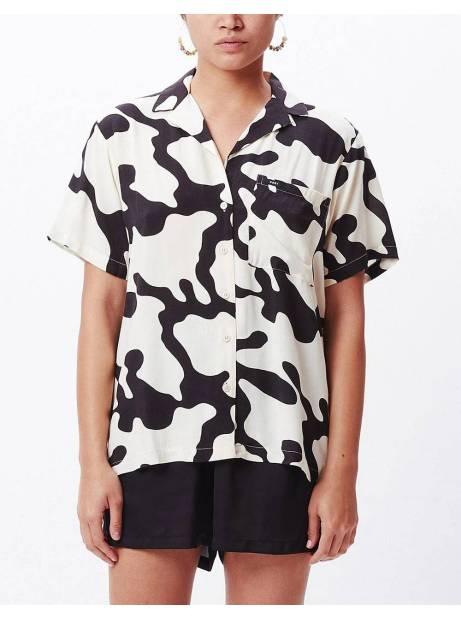 Obey Woman Glassy shirt - pecan multi obey Shirt 72,95€