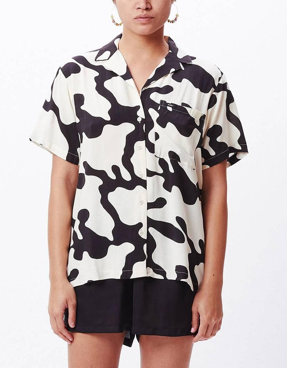 Obey Woman Glassy shirt - pecan multi obey Shirt 85,00€