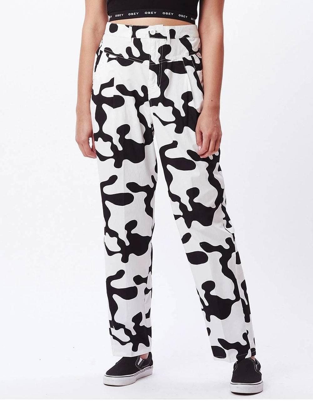 Obey Woman Kyoto pants - pecan multi obey Pants 95,00€