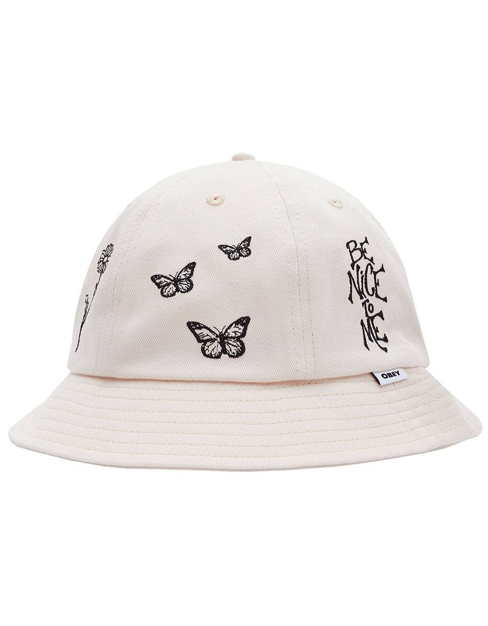 Obey Woman Printed 6 panel bucket hat - sago obey Hat 50,00€