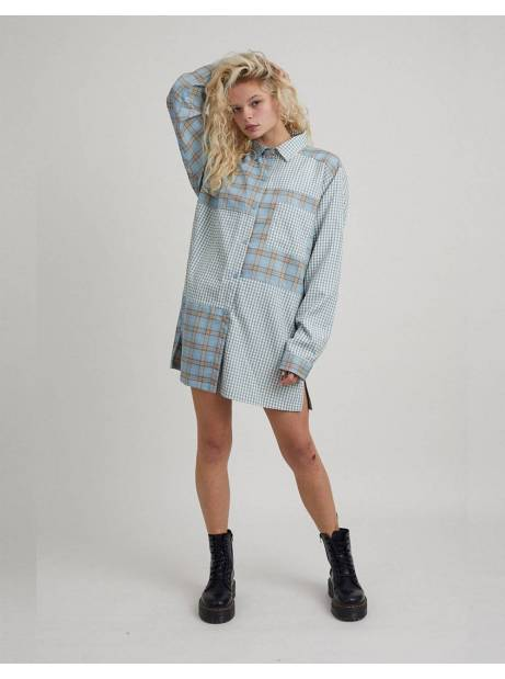 The Ragged Priest protective dress - blue check The Ragged Priest Dress 80,00€