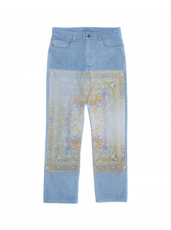 Pleasures Walk on me denim jeans - washed Pleasures Jeans 149,00€