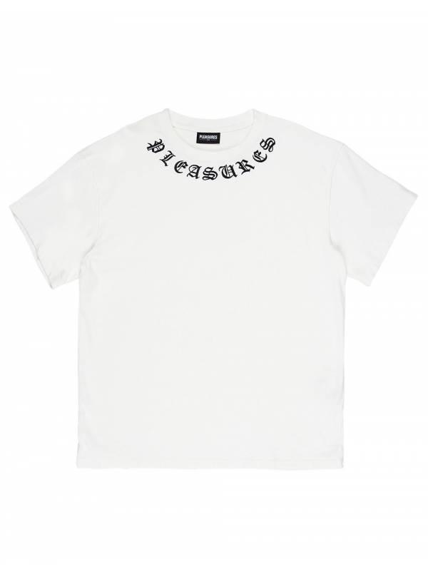 Pleasures Memento heavy t-shirt - white Pleasures T-shirt 75,00€