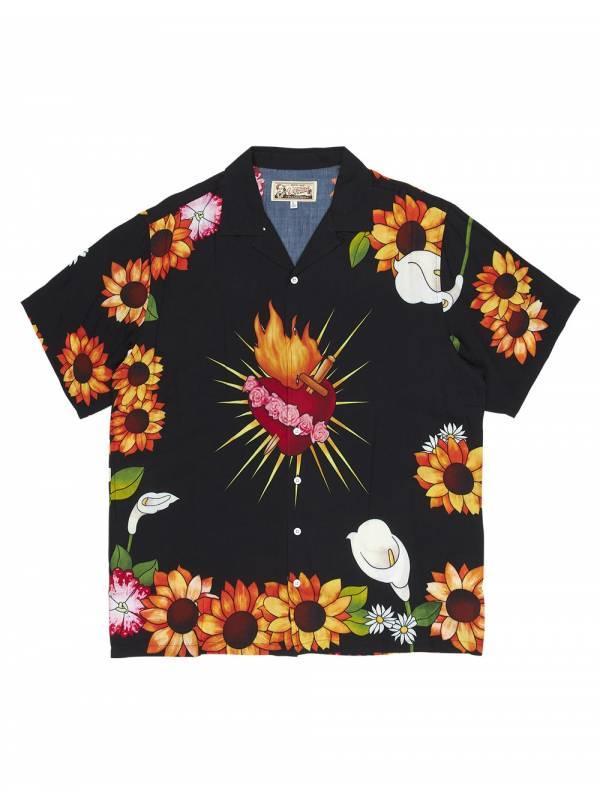 Pleasures Heart button down shirt - black Pleasures Shirt 149,00€
