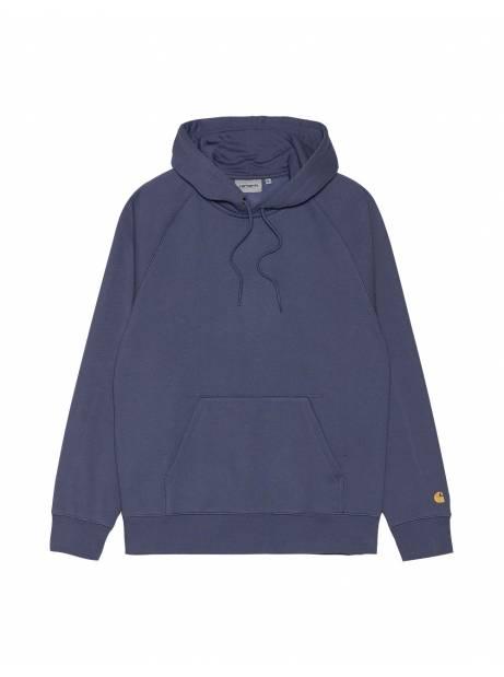 Carhartt Wip Hodeed Chase sweat - Cold purple/gold CARHARTT WIP Sweater 68,03€