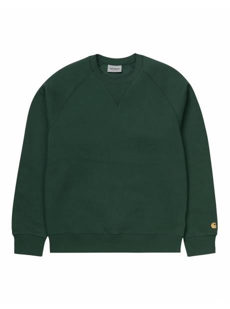 Carhartt Wip Chase sweatshirt - Fraiser/gold CARHARTT WIP Sweater 59,84€